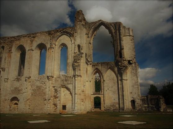 darkened cathedral